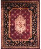 RugStudio presents Kalaty Le Palais Ps-501 Plum/Black Hand-Tufted, Best Quality Area Rug