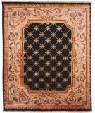 RugStudio presents Kalaty Le Palais Ps-510 Black/Ivory Hand-Tufted, Best Quality Area Rug