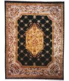 RugStudio presents Kalaty Le Palais Ps-540 Black/Ivory Hand-Tufted, Best Quality Area Rug
