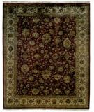 RugStudio presents Kalaty Royale Rl-916 Rust/Ivory Hand-Knotted, Best Quality Area Rug