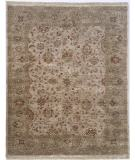 RugStudio presents Kalaty Royale Rl-919 Soft Camel/Pale Green Hand-Knotted, Best Quality Area Rug