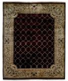 RugStudio presents Kalaty Riviera Rv610 Burgundy/Ivory Hand-Knotted, Best Quality Area Rug
