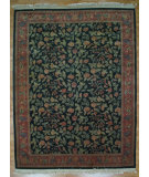 RugStudio presents Kalaty Oak 112479 Dark Green Hand-Knotted, Good Quality Area Rug