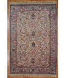 RugStudio presents Kalaty Oak 129051 Beige Hand-Knotted, Good Quality Area Rug