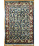RugStudio presents Kalaty Oak 129982 Black Medium Red Hand-Knotted, Good Quality Area Rug