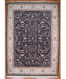 RugStudio presents Kalaty Oak 136329 Navy Hand-Knotted, Good Quality Area Rug