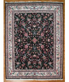 RugStudio presents Kalaty Oak 143625 Black Ivory Hand-Knotted, Good Quality Area Rug