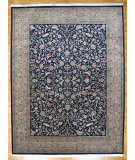 RugStudio presents Kalaty Oak 147090 Blue Beige Hand-Knotted, Good Quality Area Rug