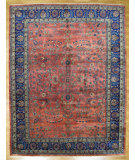 RugStudio presents Kalaty Oak 147314 Red Hand-Knotted, Good Quality Area Rug