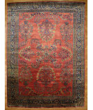 RugStudio presents Kalaty Oak 149660 Red Hand-Knotted, Good Quality Area Rug