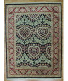RugStudio presents Kalaty Oak 151185 Black Burgundy Hand-Knotted, Good Quality Area Rug