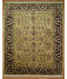 RugStudio presents Kalaty Oak 151824 Gold Plum Hand-Knotted, Good Quality Area Rug