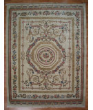 RugStudio presents Kalaty Oak 154128 Beige Hand-Knotted, Good Quality Area Rug
