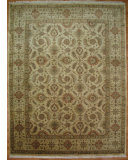 RugStudio presents Kalaty Oak 162950 Ivory Hand-Knotted, Good Quality Area Rug