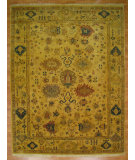 RugStudio presents Kalaty Oak 167286 Ivory Hand-Knotted, Good Quality Area Rug