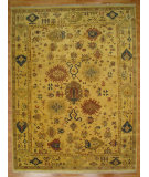 RugStudio presents Kalaty Oak 167288 Ivory Hand-Knotted, Good Quality Area Rug