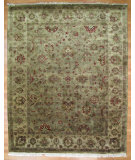 RugStudio presents Kalaty Oak 171884 Pale Green Hand-Knotted, Good Quality Area Rug