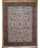 RugStudio presents Kalaty Oak 173824 Ivory Rust Hand-Knotted, Good Quality Area Rug
