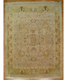 RugStudio presents Kalaty Oak 175891 Beige Gold Hand-Knotted, Good Quality Area Rug