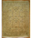 RugStudio presents Kalaty Oak 175895 Beige Hand-Knotted, Good Quality Area Rug