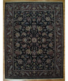 RugStudio presents Kalaty Oak 178202 Black Gold Hand-Knotted, Good Quality Area Rug