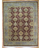RugStudio presents Kalaty Oak 180774 Burgundy Hand-Knotted, Good Quality Area Rug
