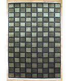 RugStudio presents Kalaty Oak 184795 Black Hand-Knotted, Good Quality Area Rug