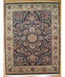 RugStudio presents Kalaty Oak 191325 Black Gold Hand-Knotted, Good Quality Area Rug