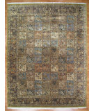 RugStudio presents Kalaty Oak 191336 Blue Hand-Knotted, Good Quality Area Rug