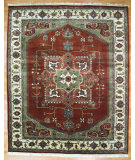 RugStudio presents Kalaty Oak 211253 Rust Hand-Knotted, Good Quality Area Rug