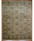 RugStudio presents Kalaty Oak 214738 Ivory Hand-Knotted, Good Quality Area Rug