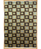 RugStudio presents Kalaty Oak 244620 Brown Hand-Knotted, Good Quality Area Rug