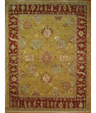RugStudio presents Kalaty Oak 248934 Gold Rust Hand-Knotted, Good Quality Area Rug