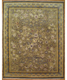 RugStudio presents Kalaty Oak 250598 Gold Brown Hand-Knotted, Good Quality Area Rug