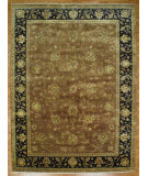 RugStudio presents Kalaty Oak 255204 Brown Black Hand-Knotted, Good Quality Area Rug