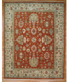 RugStudio presents Kalaty Oak 255228 Rust Beige Hand-Knotted, Good Quality Area Rug