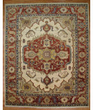 RugStudio presents Kalaty Oak 266050 Ivory Hand-Knotted, Good Quality Area Rug