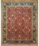 RugStudio presents Kalaty Oak 266057 Red Black Hand-Knotted, Good Quality Area Rug