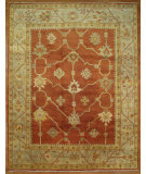 RugStudio presents Kalaty Oak 269179 Red Ivory Hand-Knotted, Good Quality Area Rug