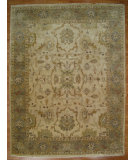 RugStudio presents Kalaty Oak 269938 Ivory Hand-Knotted, Good Quality Area Rug