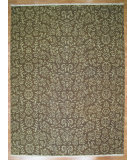 RugStudio presents Kalaty Oak 271719 Brown Ivory Hand-Knotted, Good Quality Area Rug
