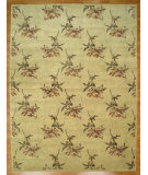 RugStudio presents Kalaty Oak 271910 Gold Brown Hand-Knotted, Good Quality Area Rug