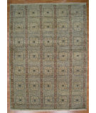 RugStudio presents Kalaty Oak 275731 Green Hand-Knotted, Good Quality Area Rug