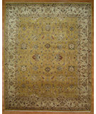 RugStudio presents Kalaty Oak 275939 Gold Ivory Hand-Knotted, Good Quality Area Rug
