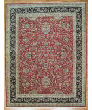RugStudio presents Kalaty Oak 284339 Red Black Hand-Knotted, Good Quality Area Rug
