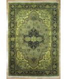 RugStudio presents Kalaty Oak 285984 Beige Hand-Knotted, Good Quality Area Rug
