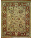 RugStudio presents Kalaty Oak 296867 Green Rust Hand-Knotted, Good Quality Area Rug