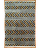 RugStudio presents Kalaty Oak 314114 Grey Hand-Knotted, Good Quality Area Rug