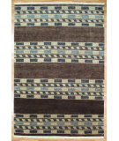 RugStudio presents Kalaty Oak 314116 Brown Hand-Knotted, Good Quality Area Rug