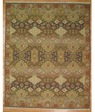 RugStudio presents Kalaty Oak 320177 Brown Hand-Knotted, Good Quality Area Rug